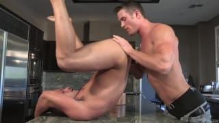 Luke Adams and Ryan Rose fucking at home