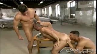 A lush threesome to enjoy with plenty of sex