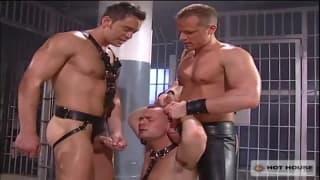 Jason Kingsley, Marcos Pirelli and Owen Hawk