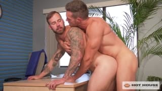 Chris Bines and Alex Mecum sodomizing