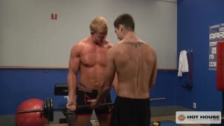 Johnny Torque and Cameron Foster playing