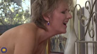 Glynis is a naughty housewife who loves sex