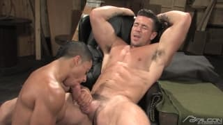 Trenton Ducati and Armond Rizzo sucking