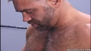 DILFs sucking each other off til they cum