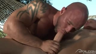 Luke Riley and Ty LeBeouf love big dick