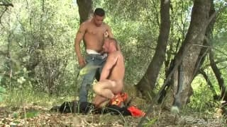 Max Sinclair and Tony Aziz licking ass