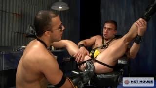Franco Ferarri and JR Bronson going deep