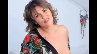 Busty and horny milfs who show off on camera