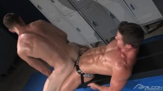 Ryan Rose and Brenner Bolton enjoy sucking