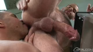 Conner Habib, Colby Keller and Girth Brooks