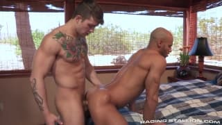 Sean Zevran and Sebastian Kross anal pounding