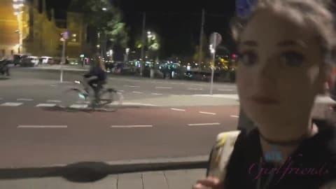 Fucking your virtual girlfriend in Amsterdam