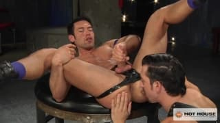Jimmy Durano and Alexander Garrett sodomise