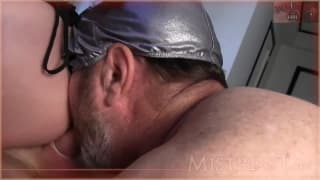 Domina Get Pleasure From Lover And Cuckold