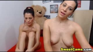 Two Lesbian Loves To Drill Each Other Pussy