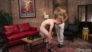 Joey Rico and Liam Harkmoore sodomizing deep