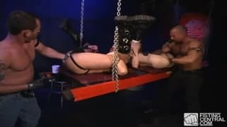 Drilling ass with a horny group of gays