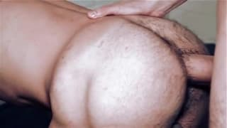 This raw ass fucking is one between two hunks