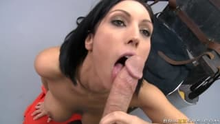 Dylan Rider Fucks a hot chick with blackhair