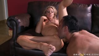 Carolyn Reese Fucks On Couch For Pleasure