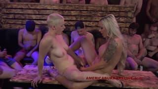 Riley Nixon and Nina Elle in a hot orgy