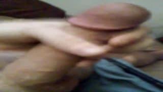 Teen gay is enjoying porn and jerking off