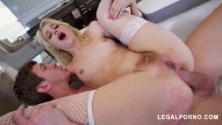 Chloe Cherry having her asshole gaped