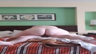Big ass BBW sucks and rides dick in Cuba