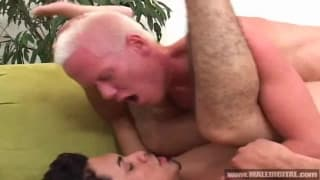 Young man fucked by an older horny dude