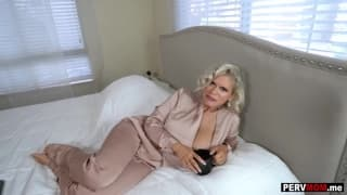Gigantic boobs granny mom loves a fuck