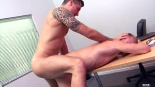 Jay Roberts and Taylor Scott have office sex